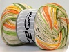 Tropical Color Yellow White Orange Green Shades