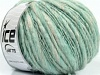Alpaca Flamme White Mint Green
