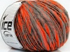 Alpaca Flamme Neon Orange Grey