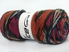 Bonito Ethnic White Fuchsia Copper Black