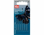 No: 24 (37 x 0.80 mm) 6 pieces tapestry needles with blunt point. Brand PRYM, acs-859