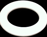 Circular Sytrofoam for Door Wreath. 5cm (2&amp) wide. Outer diameter: 30cm (12&amp). Inner diameter: 20cm (8&amp) White, Brand ICE, acs-1003