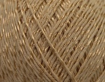 Fiber Content 70% Mercerised Cotton, 30% Viscose, Brand KUKA, Camel Brown, Yarn Thickness 2 Fine  Sport, Baby, fnt2-16800