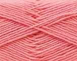 Fiber Content 55% Virgin Wool, 5% Cashmere, 40% Acrylic, Light Pink, Brand ICE, Yarn Thickness 2 Fine  Sport, Baby, fnt2-21124