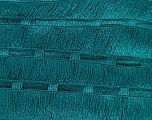 A new scarf yarn. It looks like a regular tape, but when knitted it gives you a frilly pattern. Excellent for scarfs and trims. Fiber Content 95% Acrylic, 5% Polyester, Brand ICE, Green, Yarn Thickness 6 SuperBulky  Bulky, Roving, fnt2-21164