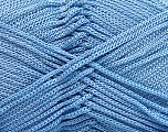 Fiber Content 100% Polyester, Light Blue, Brand ICE, fnt2-21647