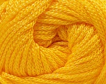 Fiber Content 100% Polyester, Yellow, Yarn Thickness Other, Brand Ice Yarns, fnt2-21649