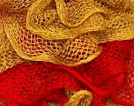 Fiber Content 100% Acrylic, Red, Brand Ice Yarns, Gold, Yarn Thickness 6 SuperBulky  Bulky, Roving, fnt2-22301