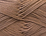 Fiber Content 100% Mercerised Cotton, Brand ICE, Camel, Yarn Thickness 2 Fine  Sport, Baby, fnt2-23786