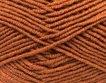 Fiber Content 45% Bamboo, 45% Wool, 10% Acrylic, Brand ICE, Brown, Yarn Thickness 3 Light  DK, Light, Worsted, fnt2-25959