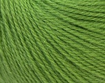 Fiber Content 100% Alpaca, Brand ICE, Green, Yarn Thickness 2 Fine  Sport, Baby, fnt2-26720