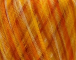Fiber Content 100% Nylon, Yellow Shades, Orange, Brand ICE, Yarn Thickness 3 Light  DK, Light, Worsted, fnt2-30026