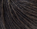 Fiber Content 40% Acrylic, 35% Wool, 25% Mohair, Brand ICE, Brown, Yarn Thickness 5 Bulky  Chunky, Craft, Rug, fnt2-31161