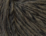 Fiber Content 40% Wool, 40% Acrylic, 20% Alpaca, Brand ICE, Dark Khaki, Yarn Thickness 4 Medium  Worsted, Afghan, Aran, fnt2-32065