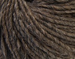 Fiber Content 40% Wool, 40% Acrylic, 20% Alpaca, Brand ICE, Camel Brown, Yarn Thickness 4 Medium  Worsted, Afghan, Aran, fnt2-32066