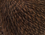 Fiber Content 40% Wool, 30% Acrylic, 30% Alpaca, Brand ICE, Brown Shades, Yarn Thickness 3 Light  DK, Light, Worsted, fnt2-32096