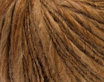 Fiber Content 49% Acrylic, 36% Wool, 15% Alpaca, Brand ICE, Brown Shades, Yarn Thickness 5 Bulky  Chunky, Craft, Rug, fnt2-32112