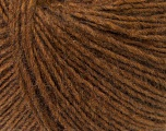 Fiber Content 50% Acrylic, 30% Wool, 20% Alpaca, Brand ICE, Brown, Yarn Thickness 3 Light  DK, Light, Worsted, fnt2-32340