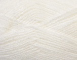 Fiber Content 100% Baby Acrylic, White, Brand ICE, Yarn Thickness 2 Fine  Sport, Baby, fnt2-34941