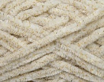 Composition 95% Micro fibre, 5% Lurex, Brand ICE, Gold, Cream, fnt2-36481
