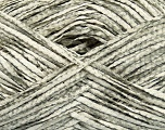 Fiber Content 100% Cotton, White, Brand ICE, Grey, Yarn Thickness 3 Light  DK, Light, Worsted, fnt2-36830