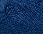 Fiber Content 50% Silk, 30% Merino Superfine, 20% Cashmere, Brand ICE, Blue, Yarn Thickness 1 SuperFine  Sock, Fingering, Baby, fnt2-37017