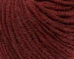 Composition 40% Baby Alpaga, 30% Acrylique, 15% Viscose, 15% Merino Extrafine, Brand ICE, Burgundy, fnt2-37507