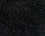 Composition 70% Mohair, 30% Acrylique, Brand ICE, Black, fnt2-37659