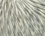 Fiber Content 35% Acrylic, 30% Wool, 20% Alpaca Superfine, 15% Viscose, White, Brand ICE, Grey, Yarn Thickness 5 Bulky  Chunky, Craft, Rug, fnt2-38185