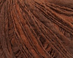 Fiber Content 50% Wool, 30% Acrylic, 20% Alpaca, Brand ICE, Copper, Brown, fnt2-38343
