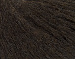 Fiber Content 75% Cotton, 25% Polyester, Brand ICE, Dark Brown, fnt2-38459