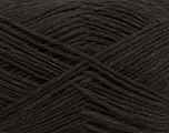 Fiber Content 37% Merino Extrafine, 35% Linen, 28% Cotton, Brand ICE, Dark Brown, Yarn Thickness 2 Fine  Sport, Baby, fnt2-38478