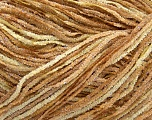 Fiber Content 90% Acrylic, 10% Lurex, Silver, Brand ICE, Cream, Brown Shades, fnt2-38696