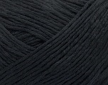 Fiber Content 100% Merino Extrafine, Brand ICE, Black, Yarn Thickness 3 Light  DK, Light, Worsted, fnt2-38820