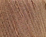 Fiber Content 55% Viscose, 33% Polyester, 12% Metallic Lurex, Rose Pink, Brand ICE, Gold, Yarn Thickness 4 Medium  Worsted, Afghan, Aran, fnt2-39045