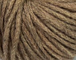 Fiber Content 50% Wool, 30% Acrylic, 20% Alpaca Superfine, Light Brown, Brand ICE, fnt2-39579