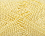 Fiber Content 100% Acrylic, Light Yellow, Brand ICE, Yarn Thickness 1 SuperFine  Sock, Fingering, Baby, fnt2-40068