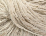 Fiber Content 50% Acrylic, 30% Wool, 20% Viscose, Latte, Brand ICE, Cream, Yarn Thickness 4 Medium  Worsted, Afghan, Aran, fnt2-40134