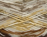 Fiber Content 50% Polyamide, 50% Acrylic, Yellow, Brand ICE, Cream, Camel, Brown, Yarn Thickness 2 Fine  Sport, Baby, fnt2-40189