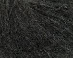 This is an excellent yarn with high-content of Alpaca, Mohair, and Merino Wool. Works excellent for your fine-weight patterns with more than 30 plain and melange colors. Fiber Content 40% Merino Wool, 30% Acrylic, 20% Alpaca, 10% Mohair, Brand ICE, Anthracite Black, Yarn Thickness 2 Fine  Sport, Baby, fnt2-40598