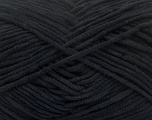 Fiber Content 100% Polyamide, Brand ICE, Black, Yarn Thickness 3 Light  DK, Light, Worsted, fnt2-40614