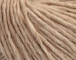 Fiber Content 50% Wool, 50% Acrylic, Brand ICE, Beige, Yarn Thickness 5 Bulky  Chunky, Craft, Rug, fnt2-40662