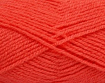 Fiber Content 100% Premium Acrylic, Salmon, Brand ICE, Yarn Thickness 3 Light  DK, Light, Worsted, fnt2-41240