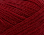 Fiber Content 100% Wool, Brand ICE, Burgundy, Yarn Thickness 5 Bulky  Chunky, Craft, Rug, fnt2-41271