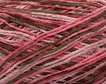Fiber Content 100% Polyester, Pink Shades, Brand ICE, Brown, fnt2-41870