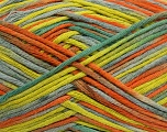 Fiber Content 100% Cotton, Yellow, Orange, Brand ICE, Green Shades, fnt2-42164