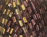 Trellis  Composition 100% Polyester, Brand Ice Yarns, Gold, Brown, Yarn Thickness 5 Bulky  Chunky, Craft, Rug, fnt2-42715