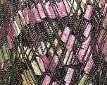 Trellis  Composition 100% Polyester, Yellow, Pink, Brand Ice Yarns, Green, Cream, Yarn Thickness 5 Bulky  Chunky, Craft, Rug, fnt2-42717
