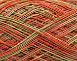 Fiber Content 100% Acrylic, Salmon, Orange, Khaki, Brand Ice Yarns, fnt2-44050