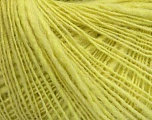 Fiber Content 50% Wool, 50% Acrylic, Lemon Yellow, Brand Ice Yarns, Yarn Thickness 2 Fine  Sport, Baby, fnt2-44298